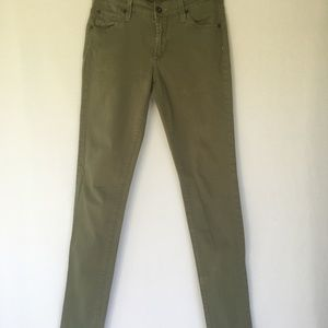 James Jeans Army Green Skinny Jean SZ 24